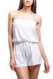Zoa Tube Top Romper - Product Mini Image