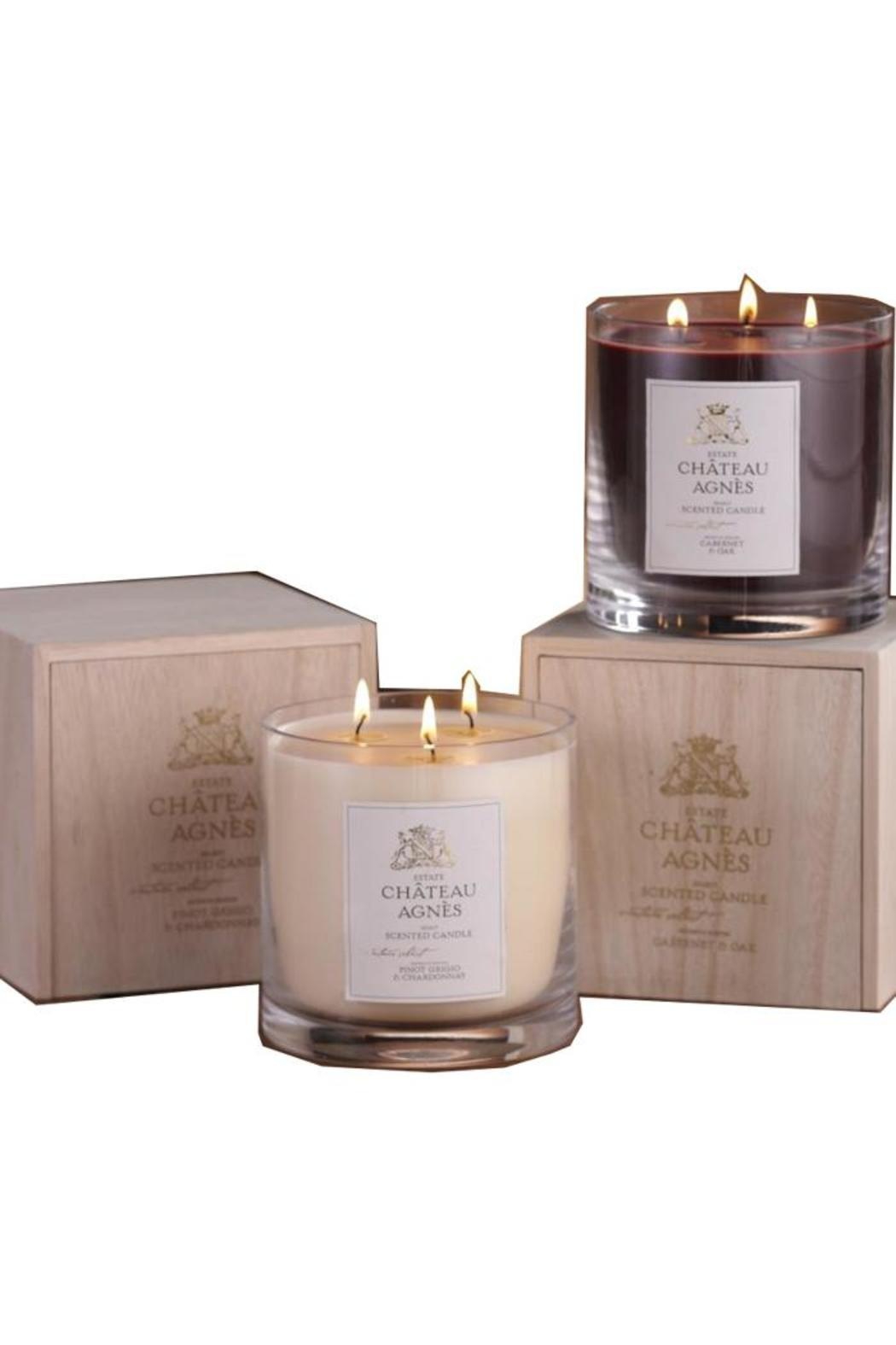 3-Wick Wine Candle