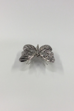 Shoptiques Product: Antique Pewter Butterfly