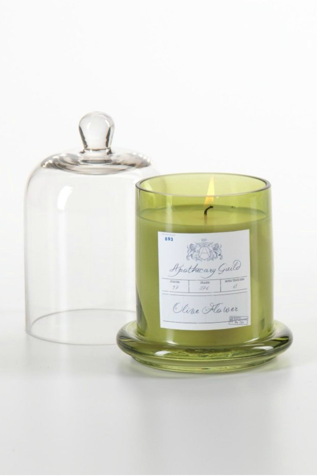 Zodax Olive Flower Candle - Main Image