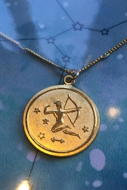 Amano Trading Zodiac Charm Necklace - Front full body