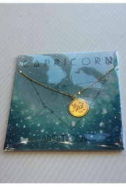 Amano Trading Zodiac Charm Necklace - Front cropped