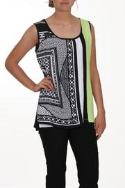 Zoe Apple Sleeveless Top - Front cropped