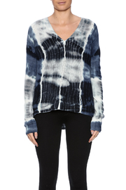zoe couture Tie Dye Cashmere Pullover - Side cropped