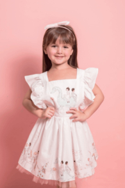 Mandy by Gema Zoe Dress Magical Parade White - Front cropped