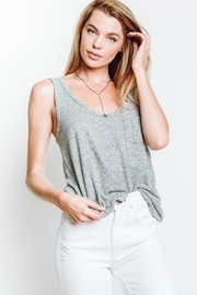 McGuire Zoe Grey Tank - Front cropped