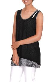 Shoptiques Product: Mesh Sleeveless Top
