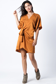wanderlux  Zoe Wrap Dress - Product Mini Image
