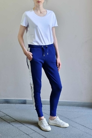 Zoe Karssen Blue White Sweatpants - Product Mini Image