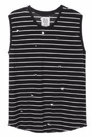 Zoe Karssen Destroy Stripe Tank - Product Mini Image