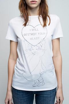 Shoptiques Product: Destroy Your Heart Tee