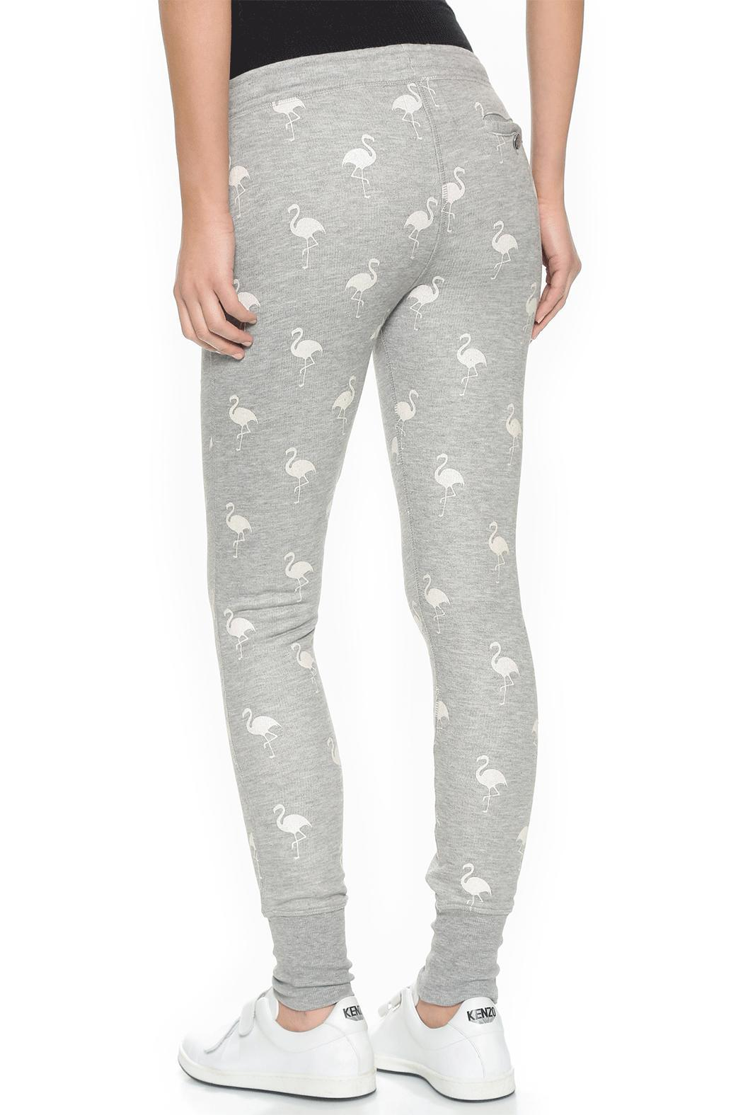 Zoe Karssen Flamingo Grey Pants - Front Full Image