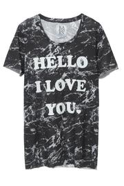 Zoe Karssen Hello Loose-Fit Tee - Product Mini Image
