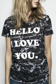 Zoe Karssen Hello Loose-Fit Tee - Front full body