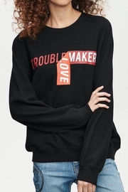 Zoe Karssen Trouble Maker Balloon Fit Sweat - Product Mini Image