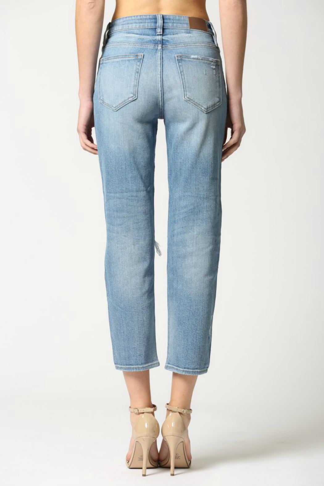 Hidden Jeans Zoey Mom Jeans - Front Full Image