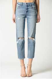 Hidden Jeans Zoey Mom Jeans - Product Mini Image