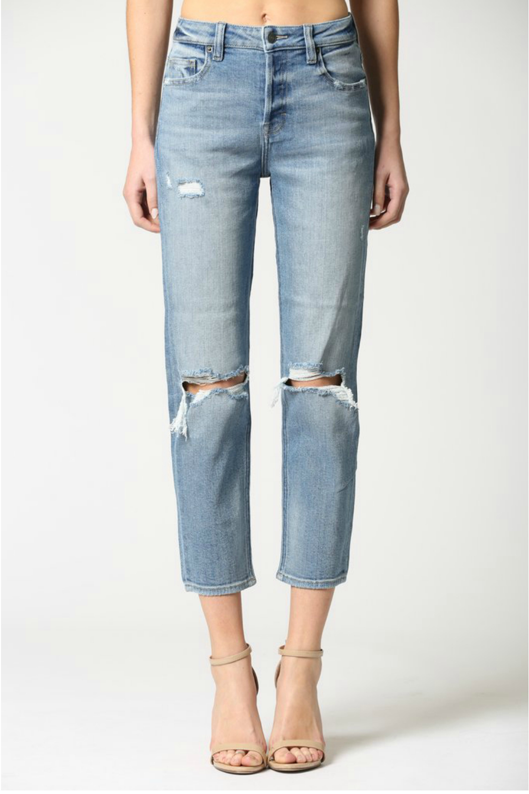 Hidden Jeans Zoey Mom Jeans - Main Image