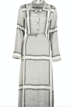Bishop + Young Zoey Scarf Print Dress - Alternate List Image