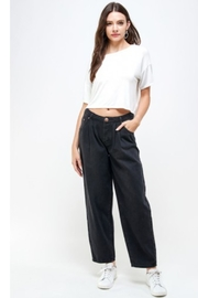 Signature 8 Zoey Wide Leg Pleat - Front cropped