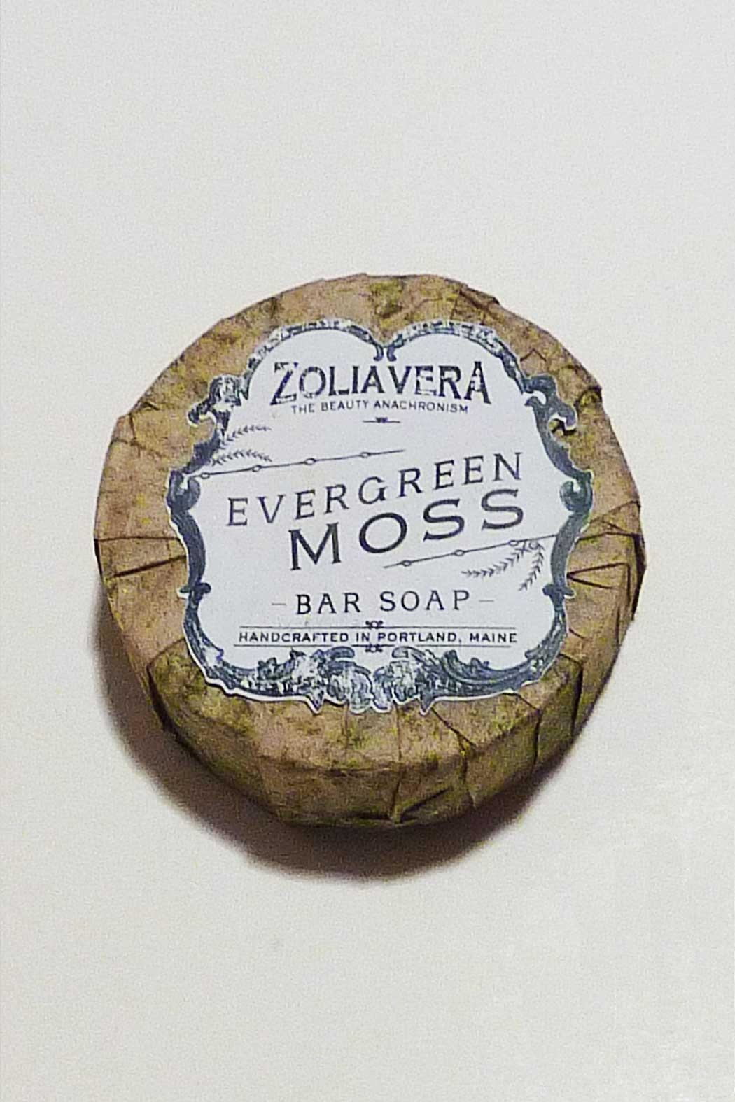 Zolia Vera Evergreen Moss Soap - Front Cropped Image