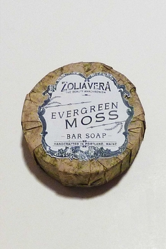Zolia Vera Evergreen Moss Soap - Alternate List Image