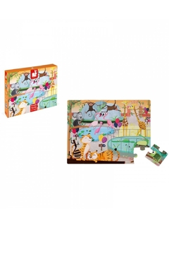 Janod Zoo Tactile Puzzle - Product List Image