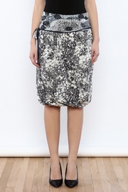 Zoology Print Bubble Skirt - Side cropped