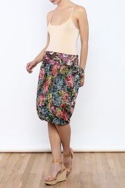 Zoology Print Bubble Skirt - Front full body