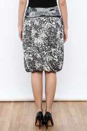 Zoology Print Bubble Skirt - Back cropped