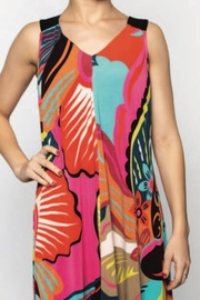 Zooni Loose Fit Print Dress - Product Mini Image
