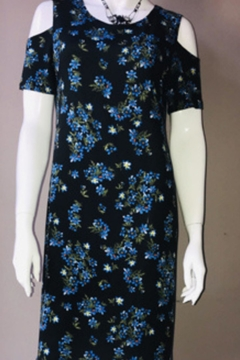 Shoptiques Product: Tiny Flower Print Dress