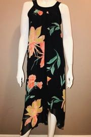Zooni Tropical Print Dress - Product Mini Image