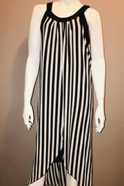Zooni Vertical Striped Dress - Product Mini Image