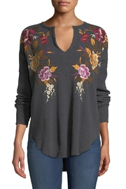 Johnny Was Zosia Embroidered Thermal-Top - Product Mini Image