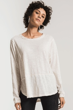 Zsupply Airy Slub Top - Product List Image
