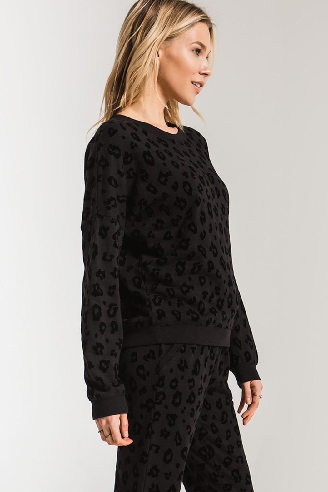 Zsupply Animal Flocked Pullover - Side Cropped Image