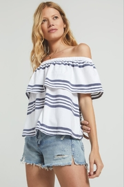 Zsupply Avalon Stripe Top - Product Mini Image