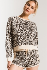 Zsupply Brushed Leopard Pullover - Product Mini Image