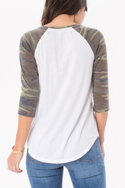 Zsupply Camo Baseball Tee - Front full body