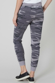 Zsupply Camo Black Jogger - Front full body