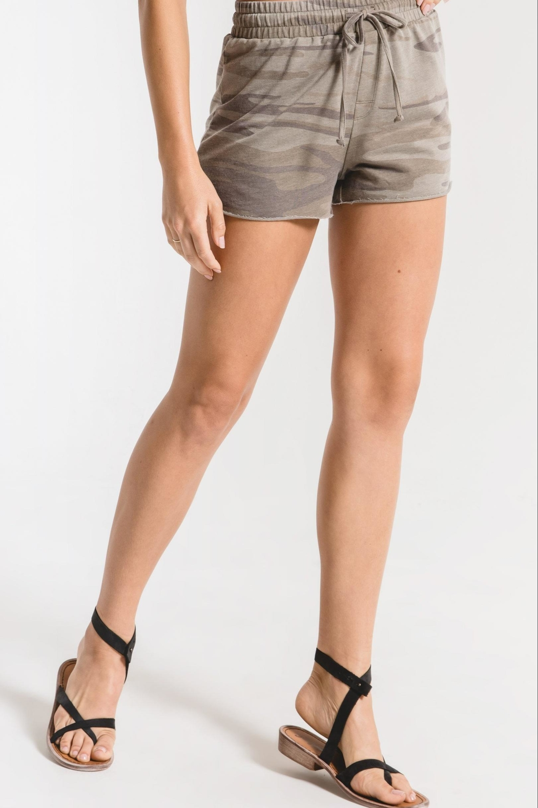 Zsupply Camo Sporty Shorts - Side Cropped Image