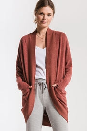 Zsupply Cocoon Marled Cardigan - Front cropped