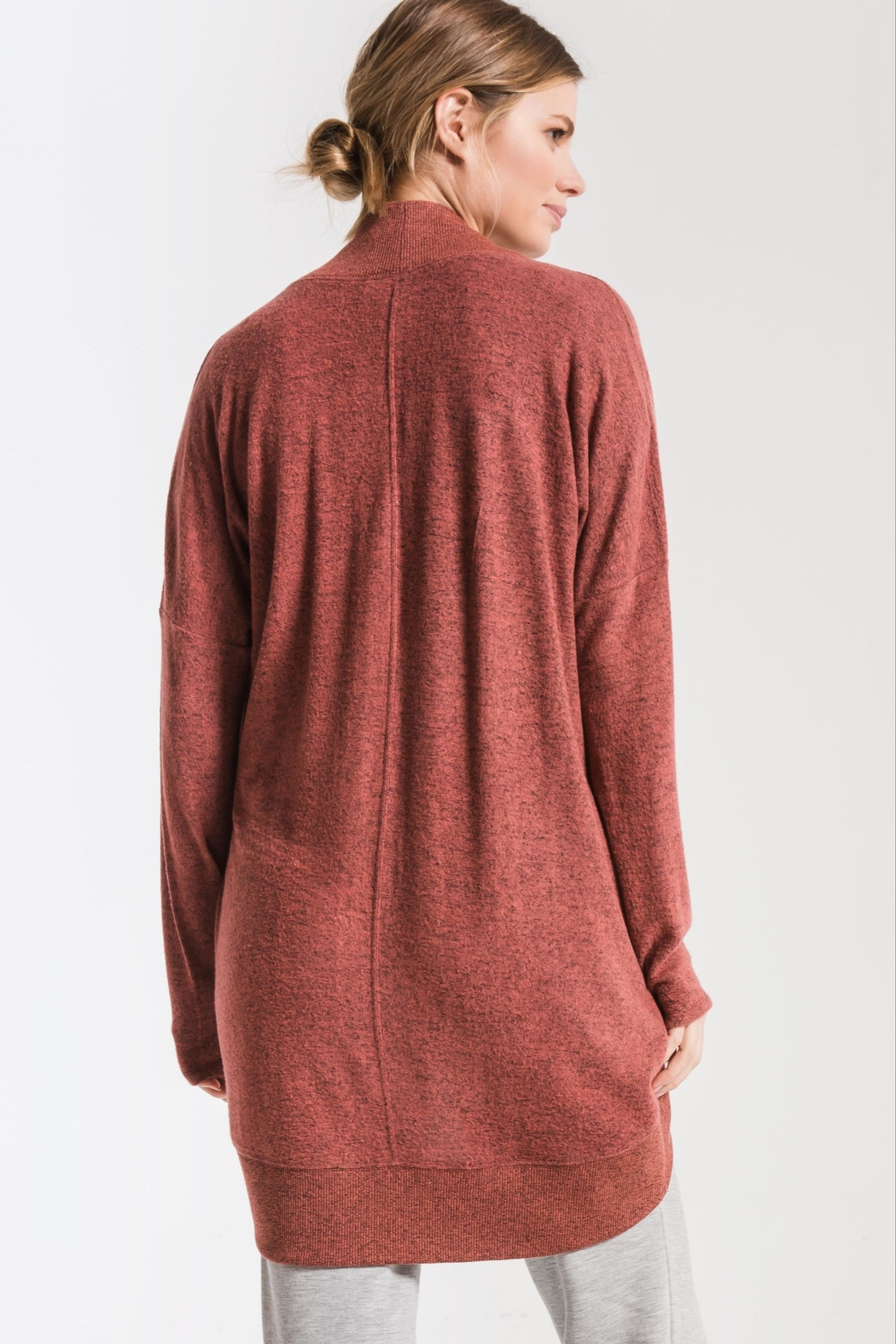 Zsupply Cocoon Marled Cardigan - Front Full Image