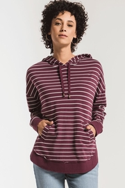 Zsupply Dakota Striped Pullover - Front cropped