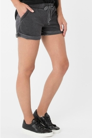 Zsupply Faded Boyfriend Short - Front full body