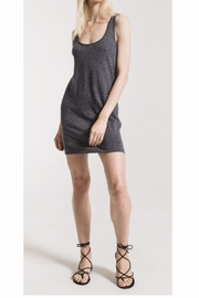 z supply Grey Leopard Tank Dress - Product Mini Image