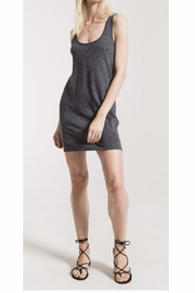 Zsupply Grey Leopard Tank Dress - Product Mini Image