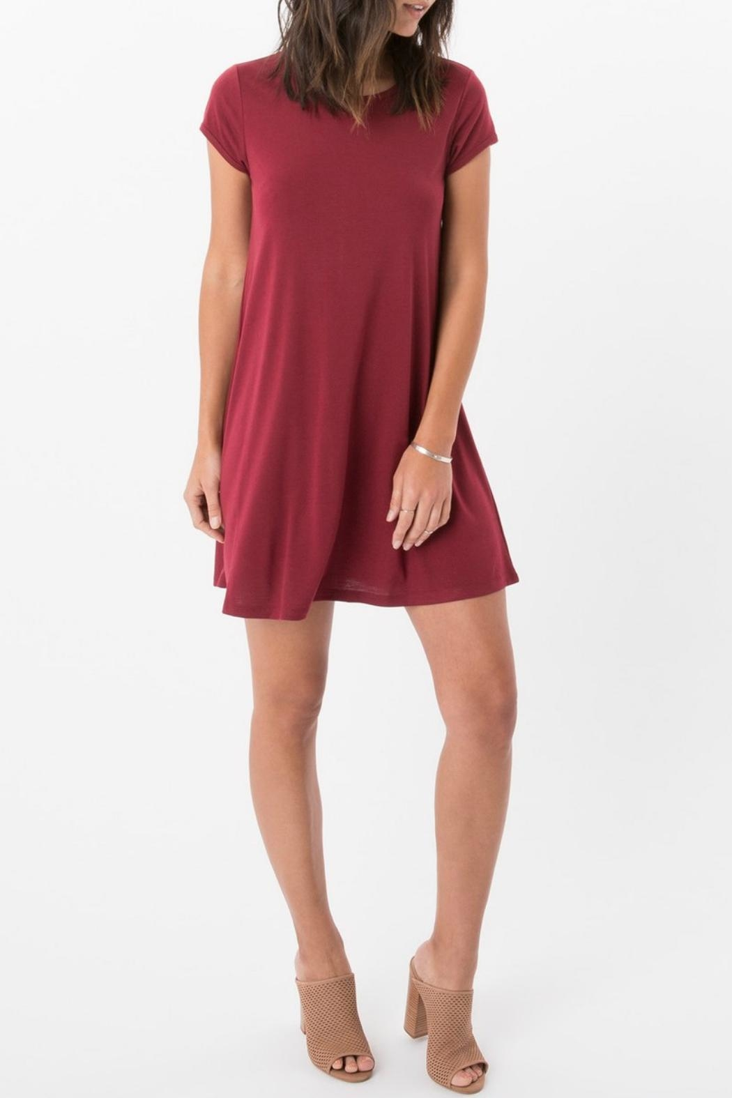 Zsupply Jersey Swing Dress - Front Full Image
