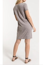 Zsupply Knotted Tee Dress - Front full body